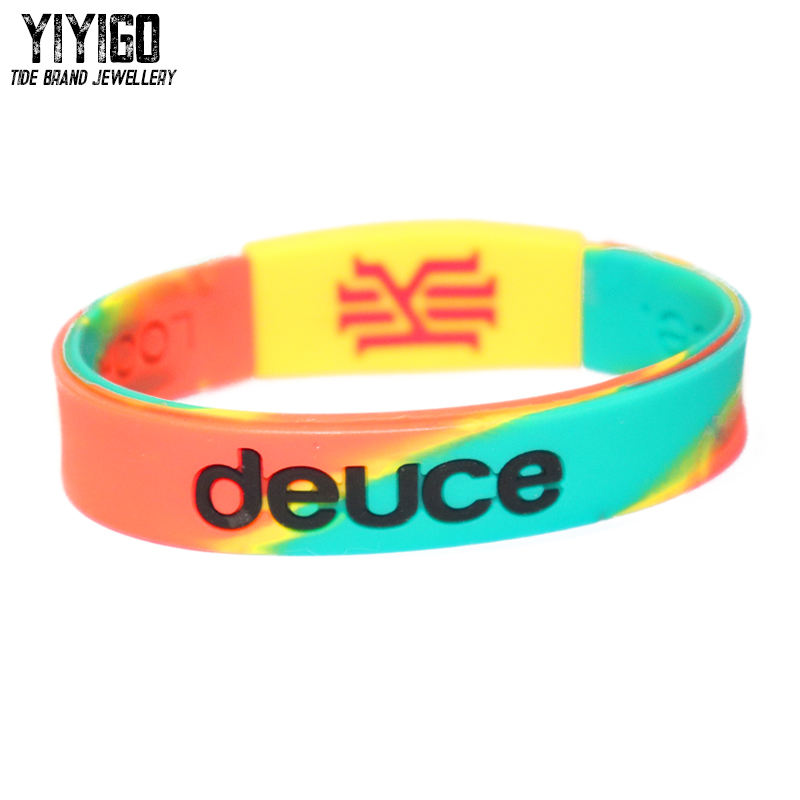 1pieces 2014All-Star MVP Kyrie Irving The Same Style Silicone Bracelet Men Lovers' Student Basketball Streetball Tide Wristband