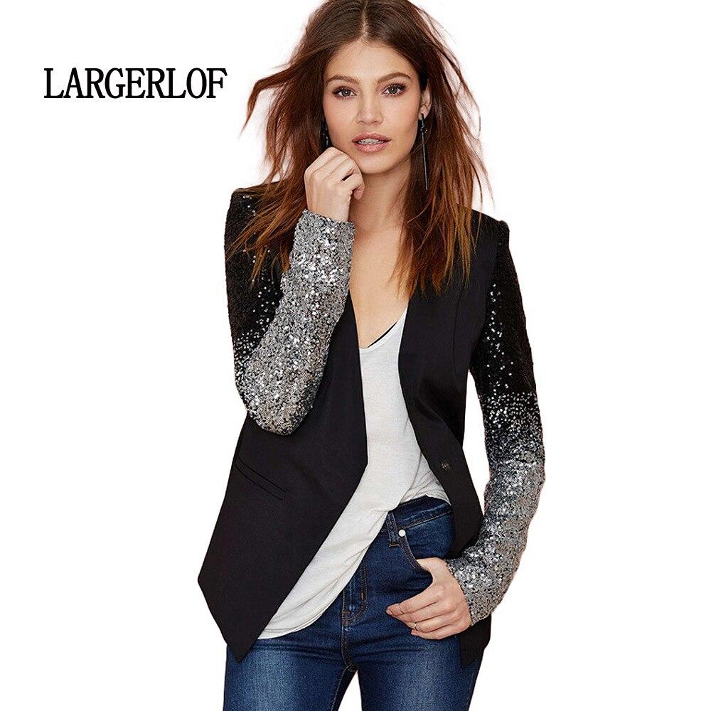 LARGERLOF Dames Blazer Slim Fit Automne Femmes Blazer Plus La Taille Femmes Hiver Long Blazer Femmes BR50013