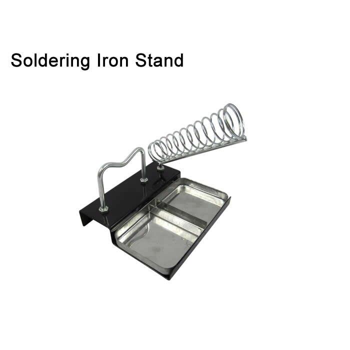 Base en métal Accueil DIY De Sécurité Électrique Protéger Base De Fer À Souder Support Stand