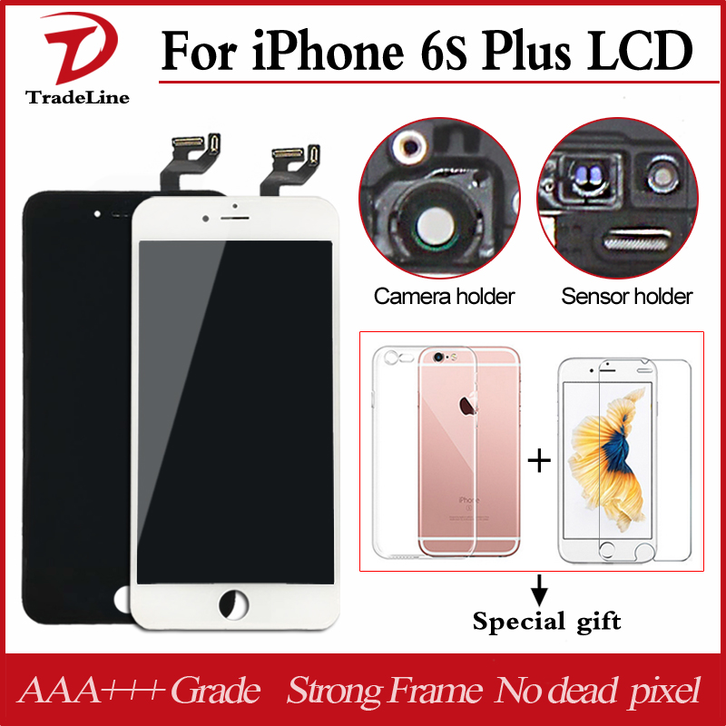 "imágenes para AAA + + 4.7 ""5.5"" Pantalla LCD 6 S de Pantalla Táctil Digitalizador Asamblea Para Apple iPhone 6 s Plus LCD con Toque 3D Negro Blanco Color"