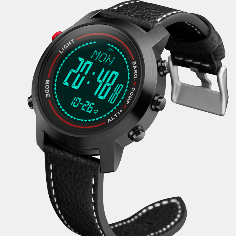 New Men Mountaineer Sports Watches Countdown Compass Barometer Waterproof Digital Wristwatches Clock Male Relogio Masculino купить в Москве 2019