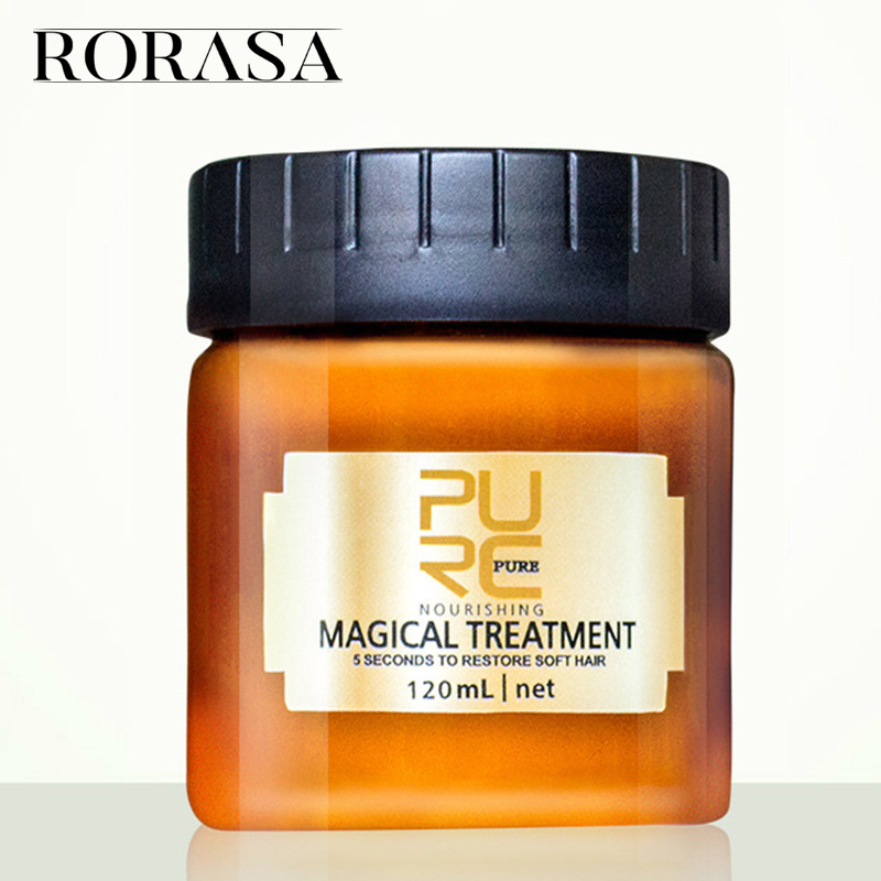Magical Treatment Mask 5 Seconds Deep Repairs Damage Restore Soft Hair 120ML For All Hair Types Keratin Hair & Scalp Treatments цена