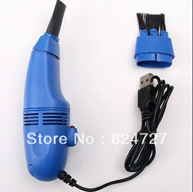 (Min Order is $10)Free shipping USB Vacuum Keyboard Cleaner Dust Collector For PC Laptop