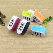 3USB Multi-port Charger Mobile Phone Universal Travel