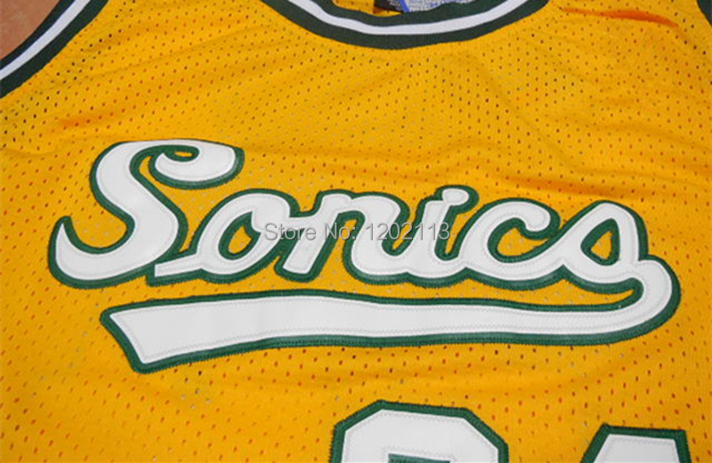 the latest 6f4bb 4c173 Seattle Supersonics #34 Ray Allen Throwback Jersey Retro ...