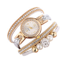 SYNOKE Fashion bracelet ladies watch crystal watch winding b