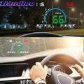 Liandlee HUD для Mitsubishi Colt Chariot Delica Diamante Magna Sigma Спидометр OBD2 Head Up дисплей большой монитор гоночный HUD