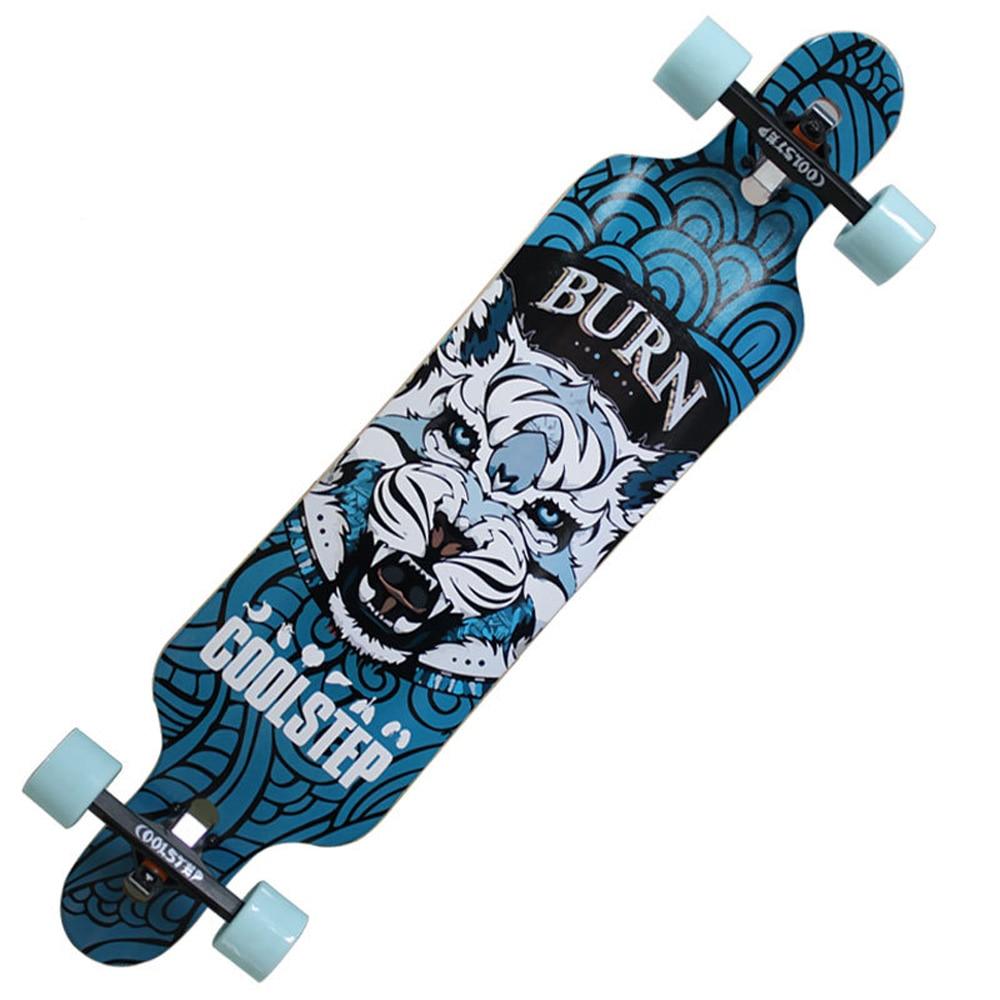 Professional Skate Board Canadian Maple Longboard Skateboard Cruiser Four Wheels Cruiser Street Deck Waveboard Balance Board