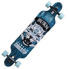 Профессиональный Скейтборд Канадский Клен Longboard Крейсер Скейтборд Четыре Колеса Cruiser Street Deck Waveboard Balance Board