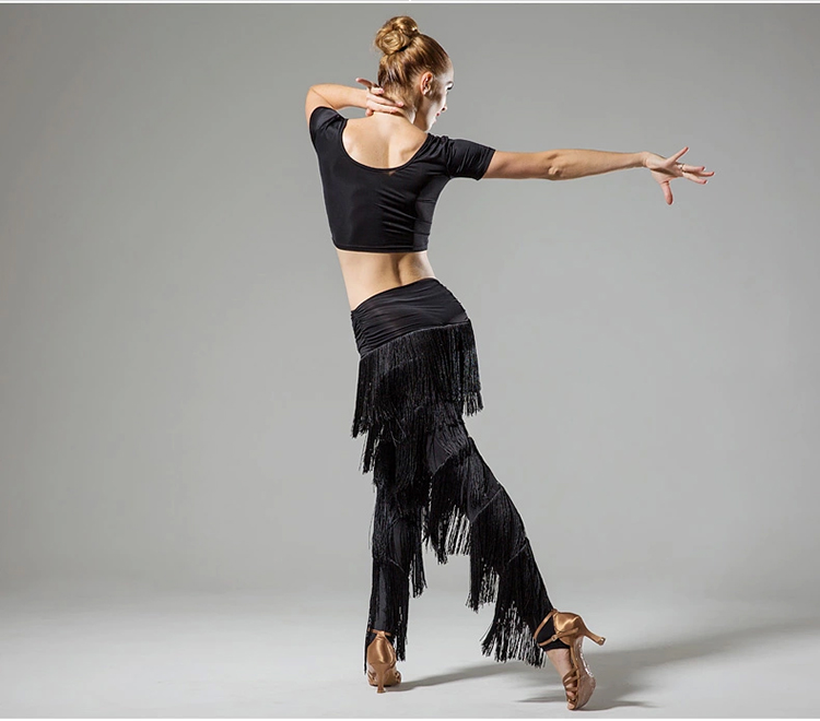 ebbe11f35 Ladies adult modern dance skirt pants fringed pants Latin dance new fringe  pants do160-in Latin from Novelty & Special Use on Aliexpress.com | Alibaba  Group