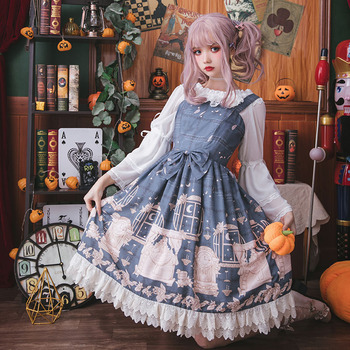Free Sale Shipping 2019 New The Test Of Pea Kyi Original Lolita Dress Everyday Sweet Princess Skirt Dresses