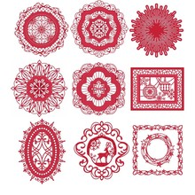 Royal Flower Lace Frames Words Metal Cutting Dies Stencils for DIY Scrapbooking Crafts Embossing Paper Cards Making New 2018 Die