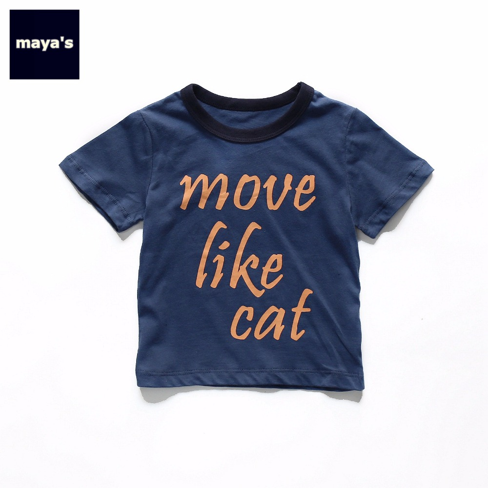 Children Tops Clothing-Sets Printed Girls Kids Fashion Summer 81129 Tees Mayas Family