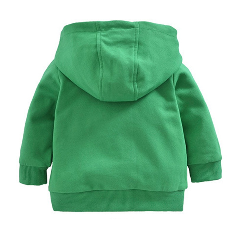 Orangemom Offical Store New Born Baby Autumn Long Sleeved Clothing Boy Girls Cartoon Hooded Sweater Coat Cotton Outwear Clothes 2