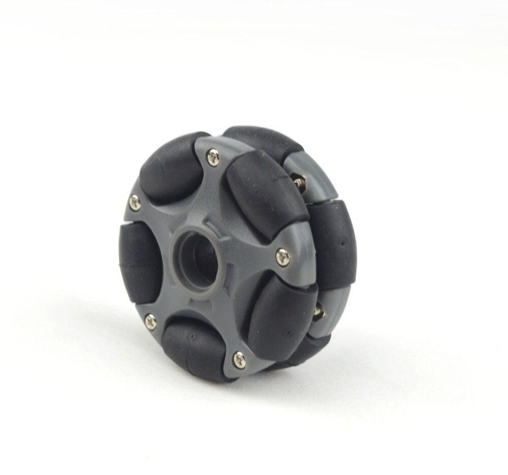 58mm Plastic Omni Wheel for robot kit and Servo Motor 14135