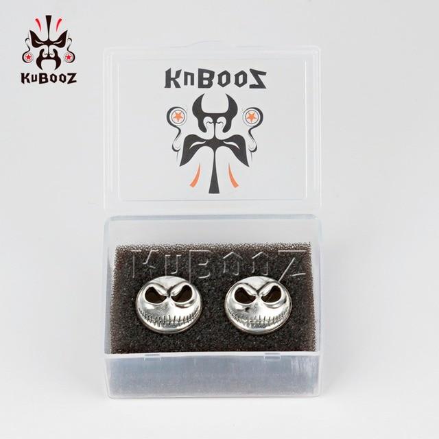 Купить ушные калибры kubooz для пирсинга заглушки в виде черепа из