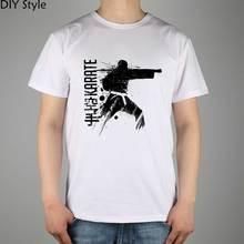 Blitz Karate Brazilian Jiu Jitsu T shirt Top Lycra Cotton Men T shirt New