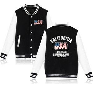 Luckyfridayf moda eua imprimir hip hop jaqueta de beisebol das mulheres dos homens hoodies moletom casual harajuku jaquetas casacos topos plus size