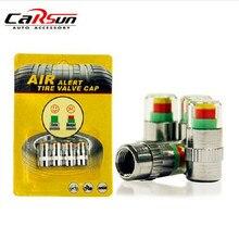 Universal Visiable 32 Psi 2,2 Bar Luft Warnung Alarm Reifen Ventil Druck Sensor Monitor Licht Kappe Anzeige Für Autos