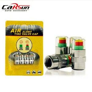Image 1 - Universele Visiable 32 Psi 2.2 Bar Air Waarschuwing Alert Ventiel Druk Sensor Monitor Licht Cap Indicator Voor Auto S