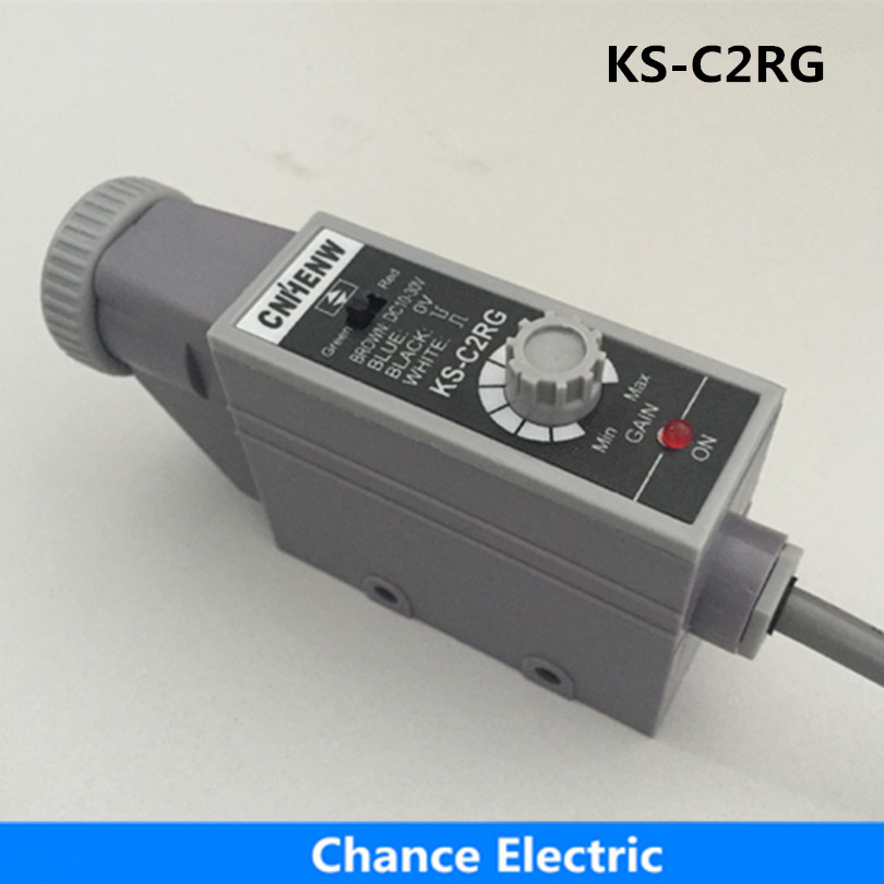 купить Packing Machine sale detect color infrared photocell mark sensors quality guaranteed optical Switch (KS-C2RG)