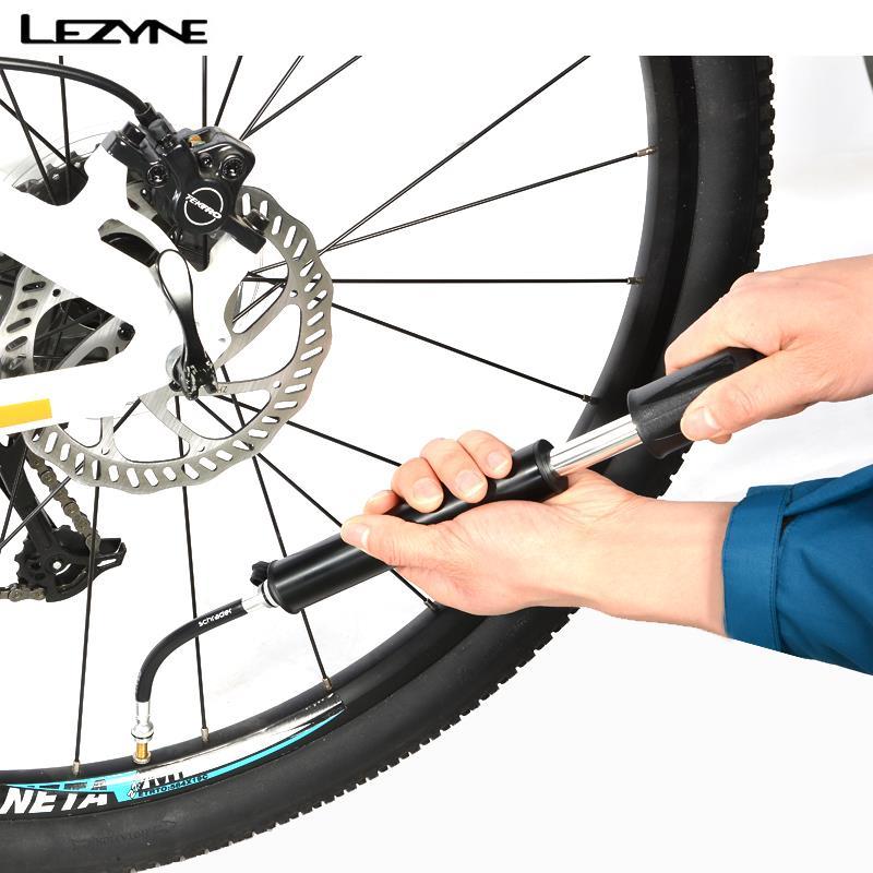 LEZYNE Sport HP 120psi 8.3bar/HV 90psi 6.2bar vélo vélo vélo Portable multifonction Mini pompe équipée