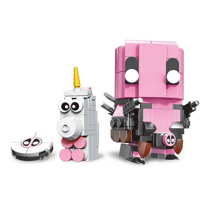 Creator Series Cute Doll Tree Man Gwenpool Owen Rocket Steve Building Block Educational Assembly BrickHeadz Toys for Children in Blocks from Toys Hobbies