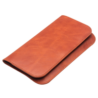 QIALINO Genuine Leather Phone Woman Bag for Apple iPhone XR/XS Max Fashion Handmade Wallet with Card Slots for iPhone6/7/8 Plus