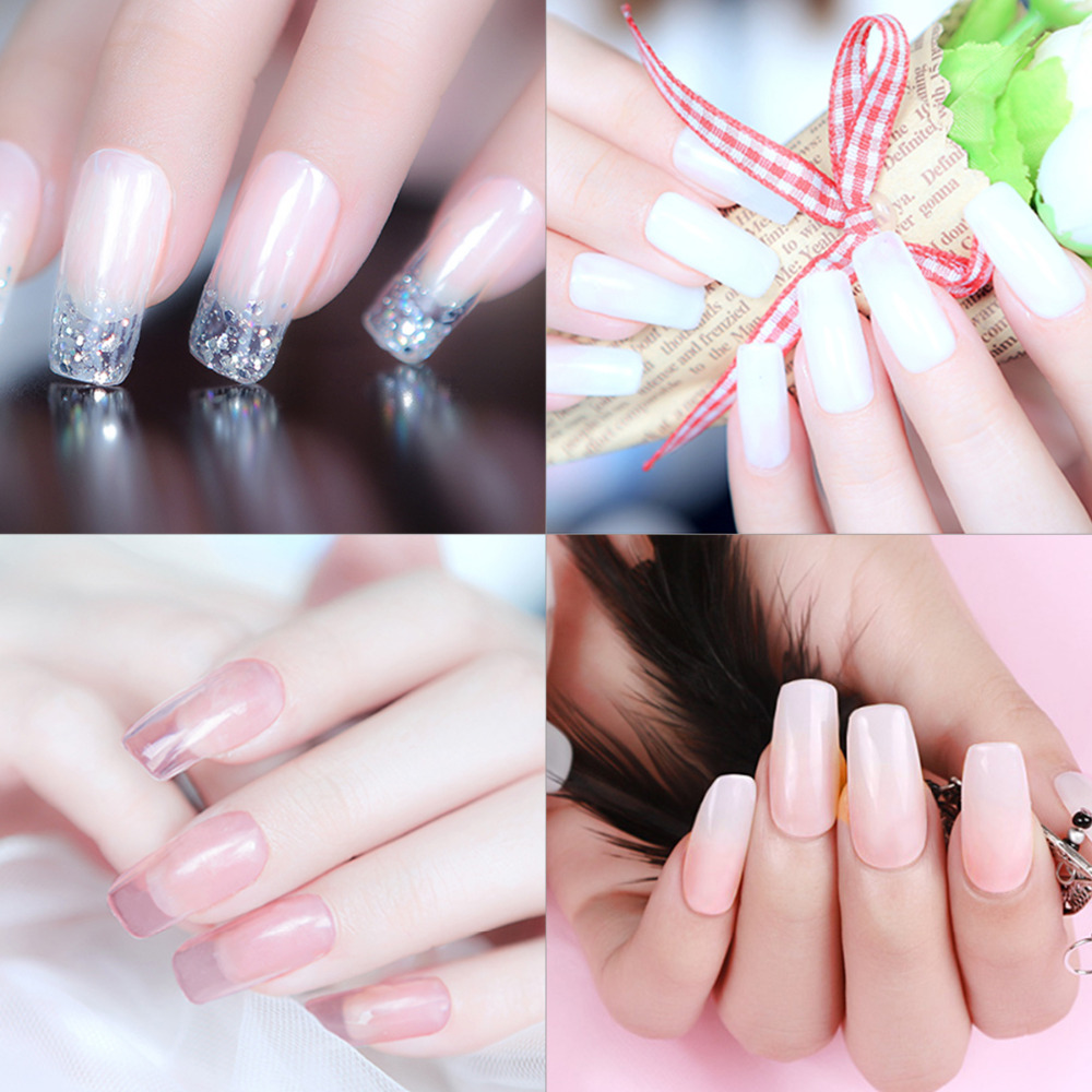 Sexymix color 30g Crystal Extend UV Nail Gel Extension Builder Led ...