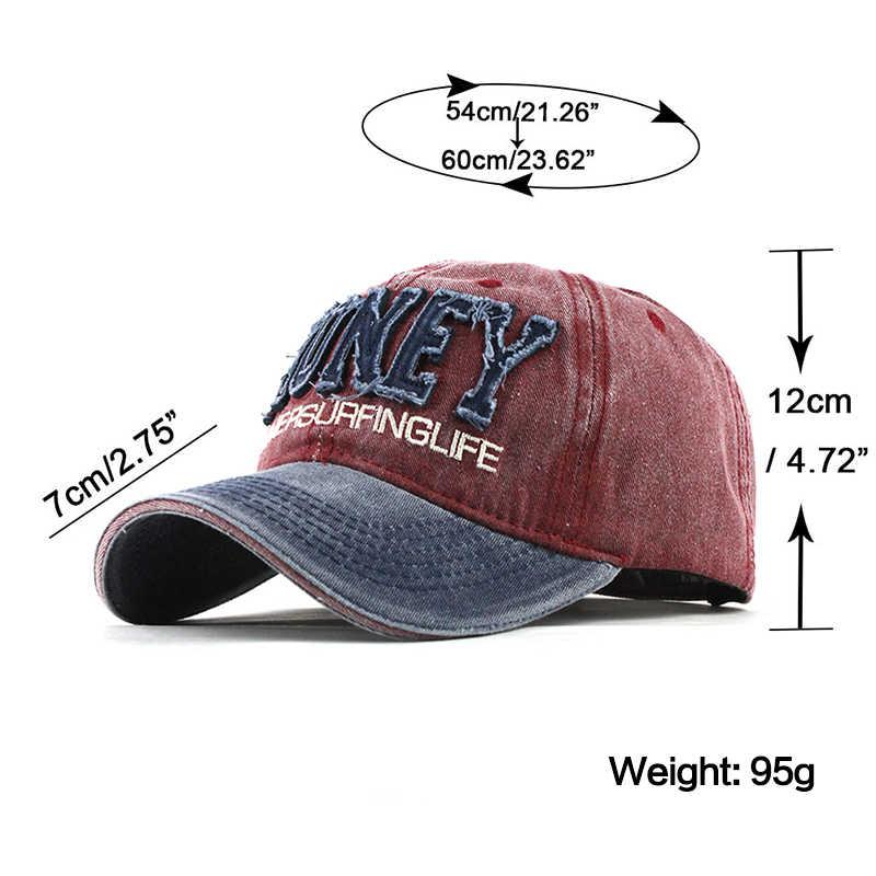 [FLB] Yeni Erkek Kap Yıkanmış Beyzbol Kapaklar Erkekler Streetwear Kadınlar Baba Şapka Snapback Nakış Rahat Casquette hip hop şapka f319