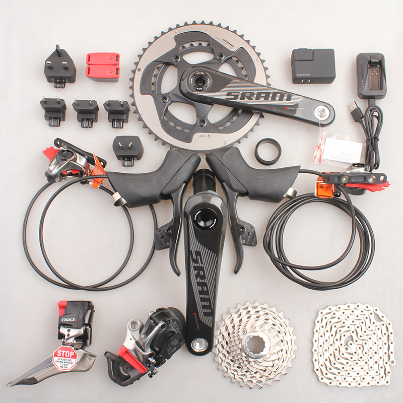 цены SRAM RED eTap Wireless Electronic Kit 2x11S Speed Road Bicycle Hydraulic Disc Brake Groupset BB30