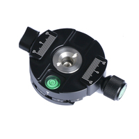 360 Degree Panoramic Tripod Head Clamping For Arca Swiss Tripod Ball Head 38mm Quick Release Plate