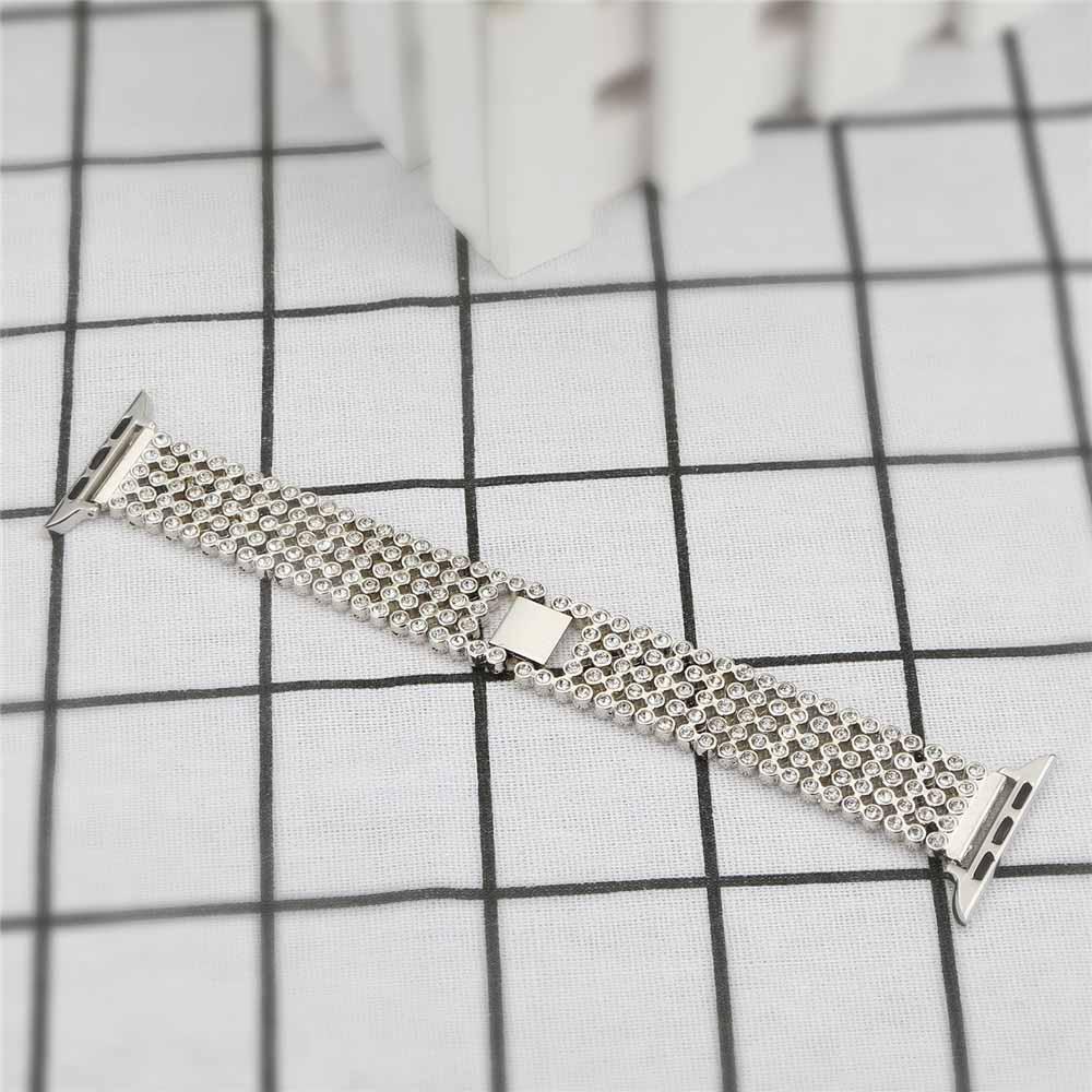 38mm 42mm 40mm 44mm diamante aço inoxidável