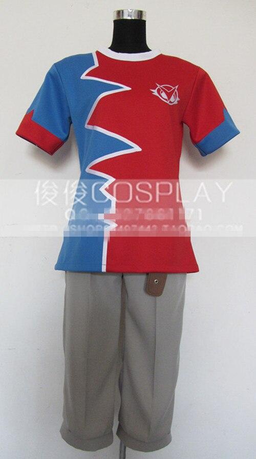 Hot Game Anime Digimon Xros Wars Taiki Kudo Uniform Cosplay Costume Any Size Free Shipping