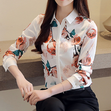 Blouses Womens Tops and Blouse White For Women Casual Long Sleeve Shirts OL Work Femme Blusa Plus Size XXL