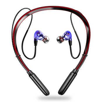 Nisheng Bluetooth Earphones & Headphones Blue