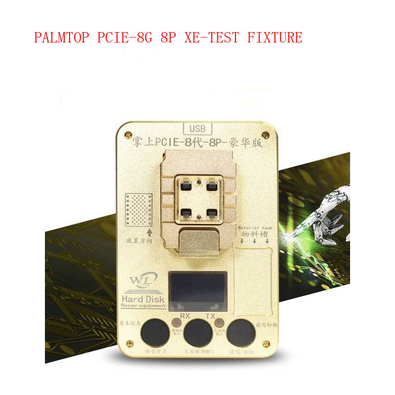 NEW PCIE NAND Programmer for iPhone x 8g 8p 7P 7 6SP ios11
