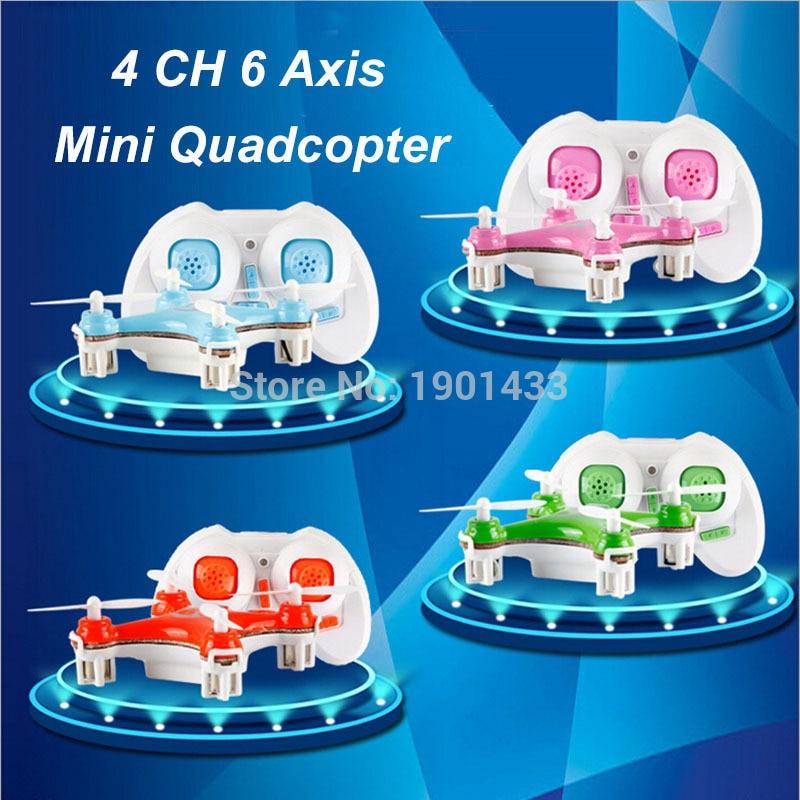 Mini Drone Quadcopter CX-10 Remote-Control LED 4CH 6-Axis Toy Original