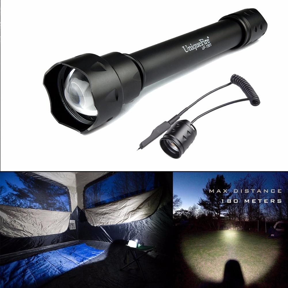 UniqueFire UF-1501 Cree XML-2 Powerful Flashlight Torch 1200 High Lumens Adjustable 38mm Convex Lens Lampe+Rat Tail sitemap 53 xml