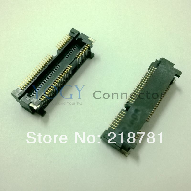 10x New Original 52PIN 6.8H Mini PCI-E PCIE Slot Connector Socket for Laptop Lenovo Wireless Network Card(China)
