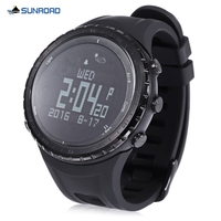 SUNROAD Sports Smart Watch Altimeter Barometer Pedometer Thermometer Compass Wristwatch