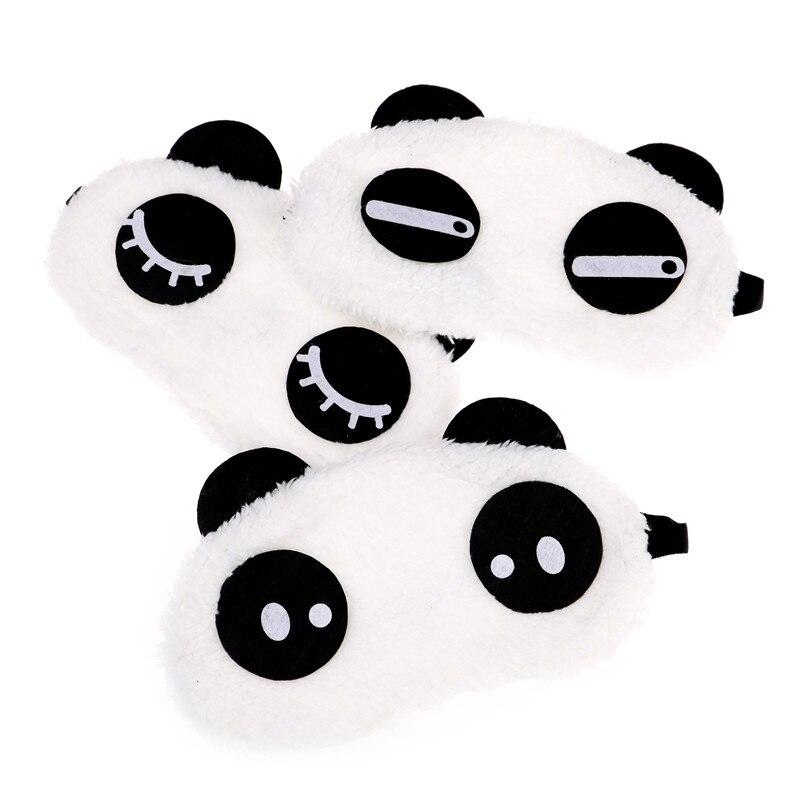 New Cute Face White Panda Eye Mask Eyeshade Shading Sleep Cotton Goggles Eye Mask Sleep Mask Eye Cover Health Care Tools