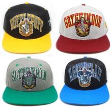 954edc12 Harry Potter Hogwarts School Adjustable Baseball Hat Snapback Hats Cap  Unisex Gift Cosplay(China)