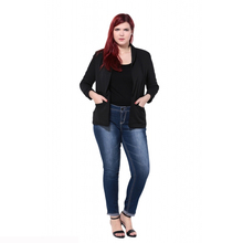 Plus Size Slim Casual Blazer for Women