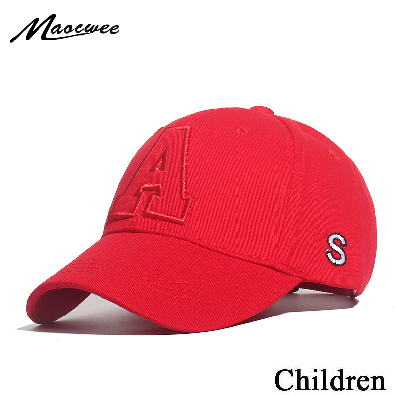 Kids Boy Adjustable Baseball Caps Spring Summer Baby Letter Cap Baby Boys Girl Hats Children Snapback Hip-Hop Sun Hat Bones 2019