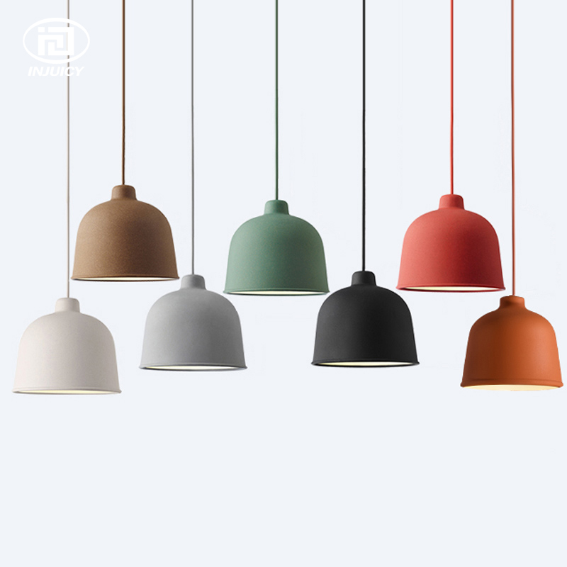 Simple Modern Macarons Art Colorful Pendant Lamps Painted Aluminum Classic Led Drop Light For Indoor Cafe Bar Childrens BedroomSimple Modern Macarons Art Colorful Pendant Lamps Painted Aluminum Classic Led Drop Light For Indoor Cafe Bar Childrens Bedroom