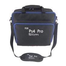 Jogo Bolsa Para PS4 Sytem Alça de Ombro Fino Saco de Viagem Carry Case Acessórios Consolas de jogos Para Playstation PS4 Pro