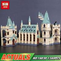 Lepin 16030 Movie Series The Hogwarts Castle Set 1340pcs Building Blocks Bricks Compatible 4842 Educational Toys