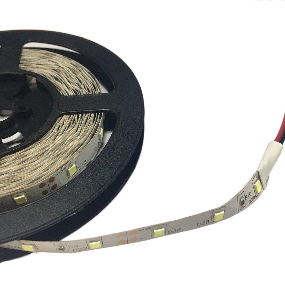 10 PCS 3528 5M 16ft SMD Non-Waterproof 300 LEDs Flexible Light LED Sticky Strip 12V decorative flexible 24w white 300 smd 3528 led 1600 1800lm light strip dc 12v 5m