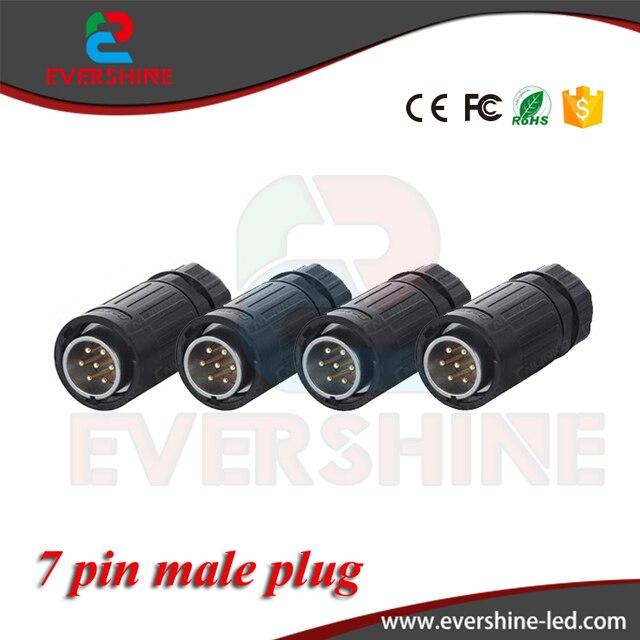 Series Plug Socket YA20 Waterproof Power And Lighting XLR 7 PINS ...